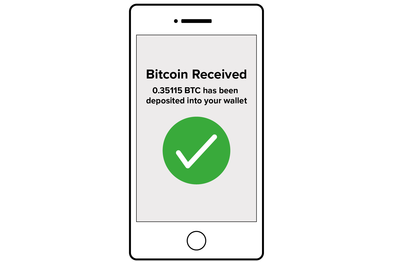 Receiving Bitcoin In Bitcoin Wallet