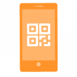 Scan QR Code at Bitcoin ATM